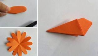 手工花朵制作方法