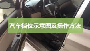汽车档位示意图及操作方法图解