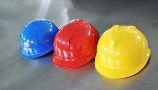 安全帽颜色顺口溜