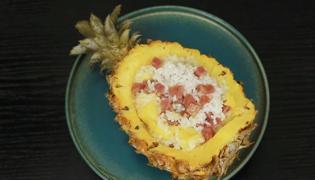 菠萝饭怎么做