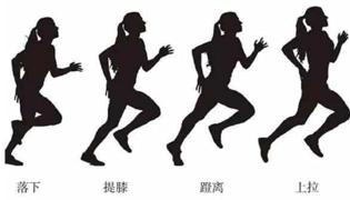 正确跑步姿势