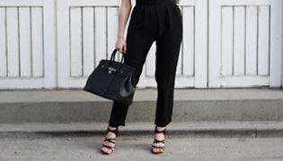 黑色裤子配什么颜色鞋子