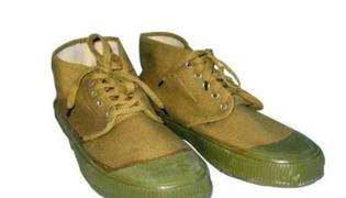 黄胶鞋七分裤什么梗