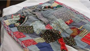 衣服补丁怎么缝