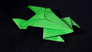 纸青蛙怎么折