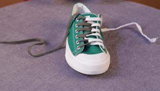 女神鞋带系法