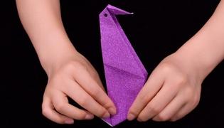 啄木鸟的折法