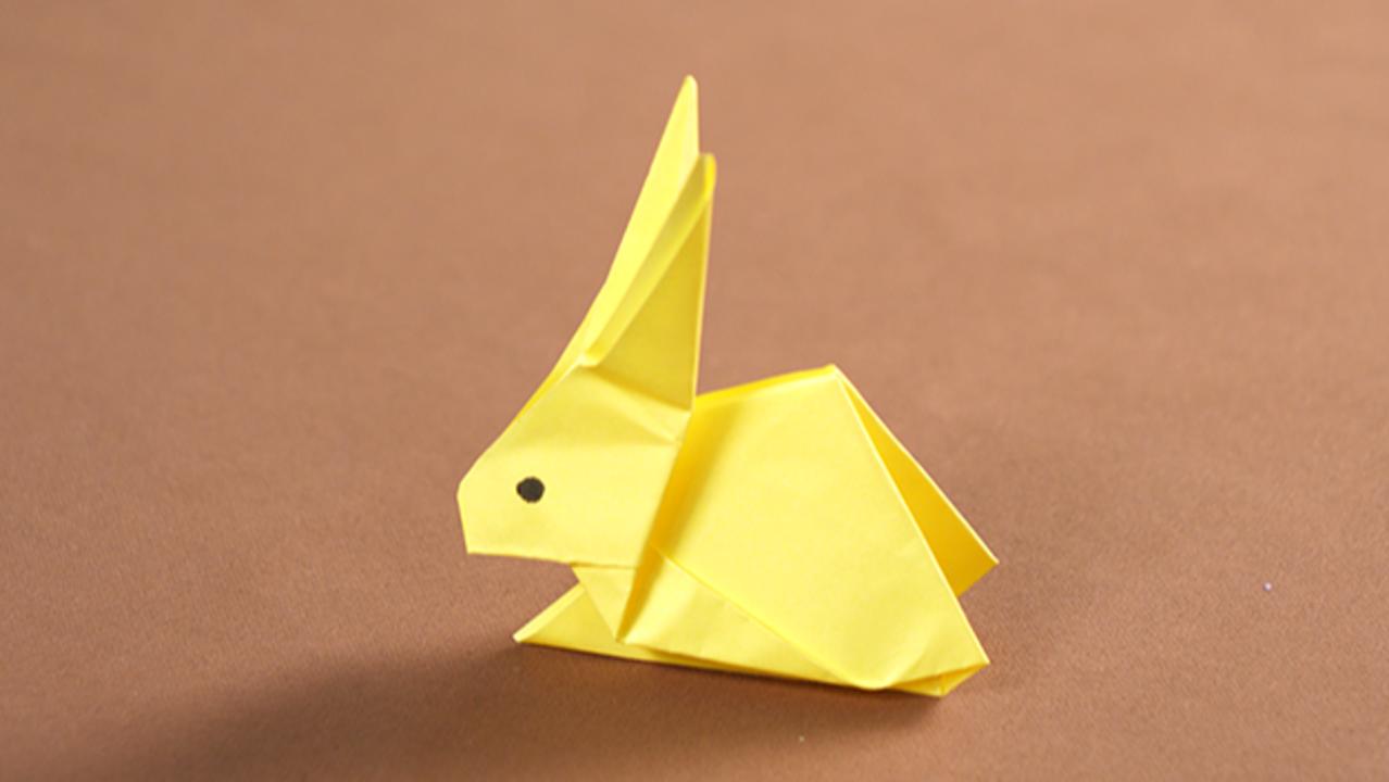 兔子怎样折 兔子怎么折
