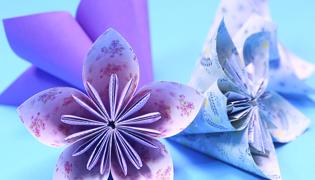 樱花的折法