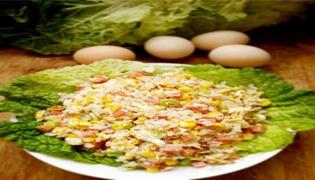 蛋炒肉家常做法教程