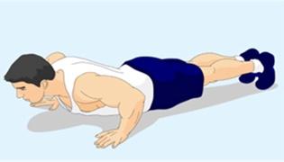 55岁一般能做几个俯卧撑