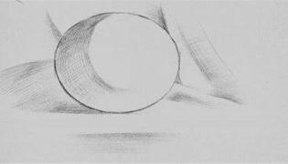 素描画圆的方法是什么