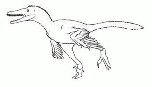 机器恐龙的画法是什么