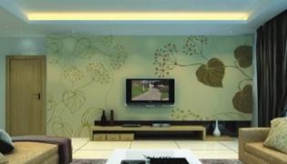 墙面印花的具体做法