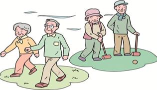 65歲一天應該走多少步