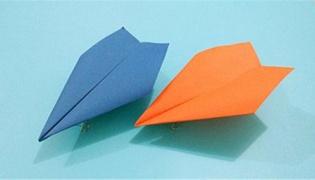纸飞机怎么折