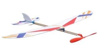 用橡皮筋如何制作發射的飛機