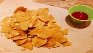 油炸土豆片如何才能不变软