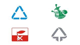 垃圾桶的分类标志分别是什么