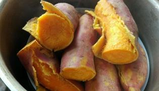 自制红薯玉米面钓饵的制作方法