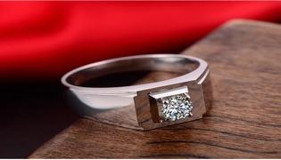 男士结婚戒指怎么戴