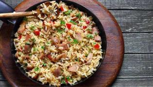 焖糯米饭的做法