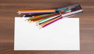 白纸上的蜡笔如何擦掉