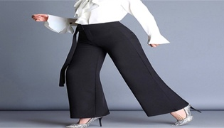 女士阔腿裤搭配方法有哪些