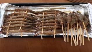 烘烤大虾的家常做法