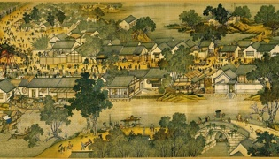 北宋清明上河图描绘的是什么的生活场景