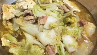 五花肉炖小白菜的做法是什么