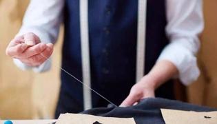 縫衣服怎么收針