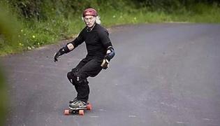滑板教学Ⅴ:踢腿转弯