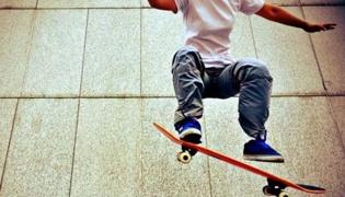 滑板教学Ⅺ:原地豚跳