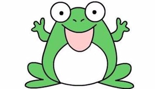 青蛙簡筆畫