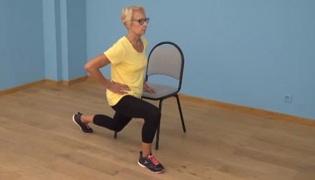 老年人肌肉强化练习Ⅴ:膝盖强化练习(单人篇)