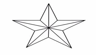 五角星的画法
