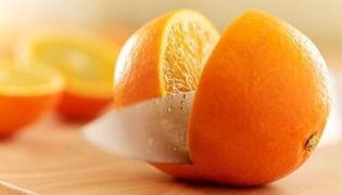 橙子怎么切