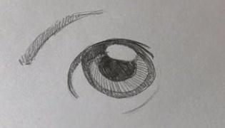 怎么画男生的眼睛