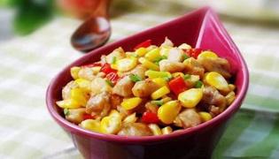 玉米鸡丁怎么做