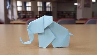 大象怎么折