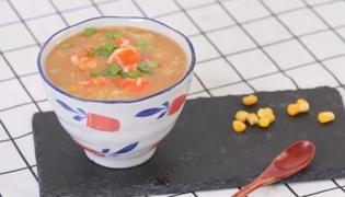 虾粥的做法