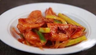 番茄大虾的做法
