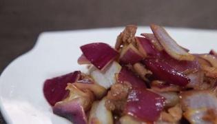 怎样做洋葱炒肉