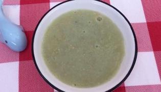 黄瓜栗子稀粥的做法