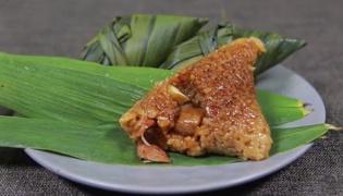 板栗肉粽的做法