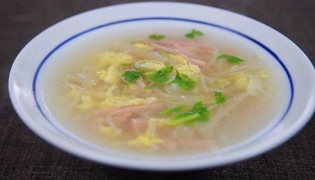 金针菇汤的做法