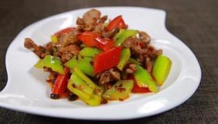 辣椒炒雞胗的做法
