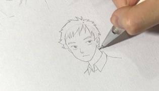 漫画男生的发型怎样画