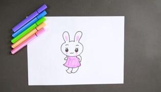 兔子簡筆畫